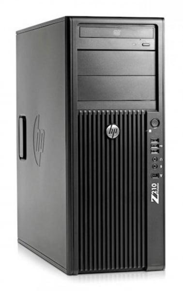 Workstation HP Z210 Tower, Procesor Intel Xeon Quad Core E3-1270 3.4 GHz, 8 GB DDR3, 2 x hard disk 600 GB SAS, DVD, Placa video nVidia Quadro FX 3800 [0]