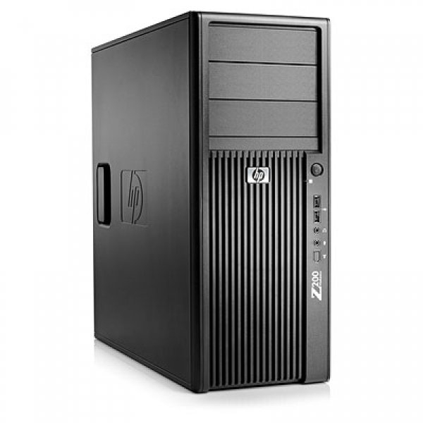 Calculator HP Z200 Tower, Intel Core i3-540 3.06 GHz, 4 GB DDR3, SSD 240 GB, DVD, Windows 7 Professional, 3 ANI GARANTIE 0