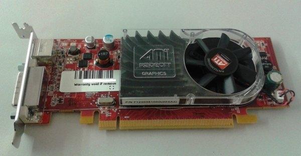 Placa video ATI Radeon HD 3450, 256MB, DMS-59, PCI-e 16x, low profile 0