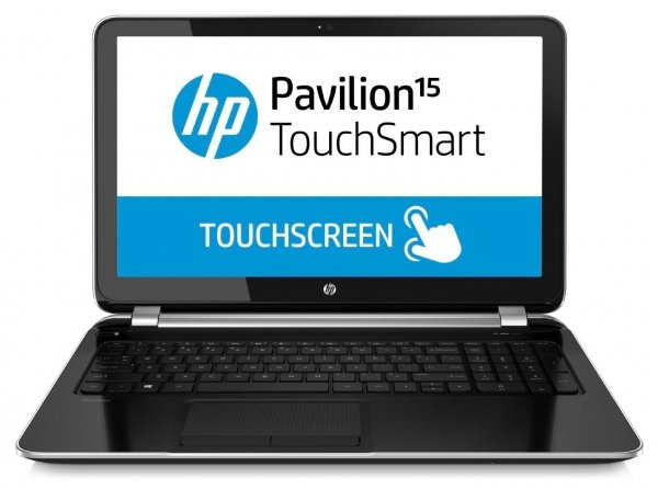 "Laptop HP Pavilion Touchsmart 15-N288, AMD Quadcore A8-4555M 1,6 GHz, 8 GB DDR3, 1 TB HDD SATA, DVD, WI-FI, Bluetooth, WebCam, Display 15,6"" Touchscreen, 1366 by 768, Windows 8.1, 3 ANI GARANTIE 0"