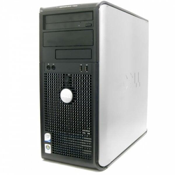 Calculator Dell Optiplex 760 Tower, Intel Core 2 Duo E8600 3.33 GHz, 2 GB DDR2, SSD 240 GB, DVDRW, Windows 7 Home Premium, 3 ANI GARANTIE [0]
