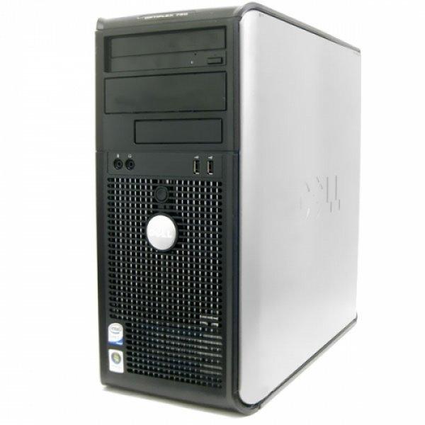 Calculator Dell Optiplex 760 Tower, Intel Core 2 Duo E8600 3.33 GHz, 4 GB DDR2, SSD 240 GB, DVDRW 0
