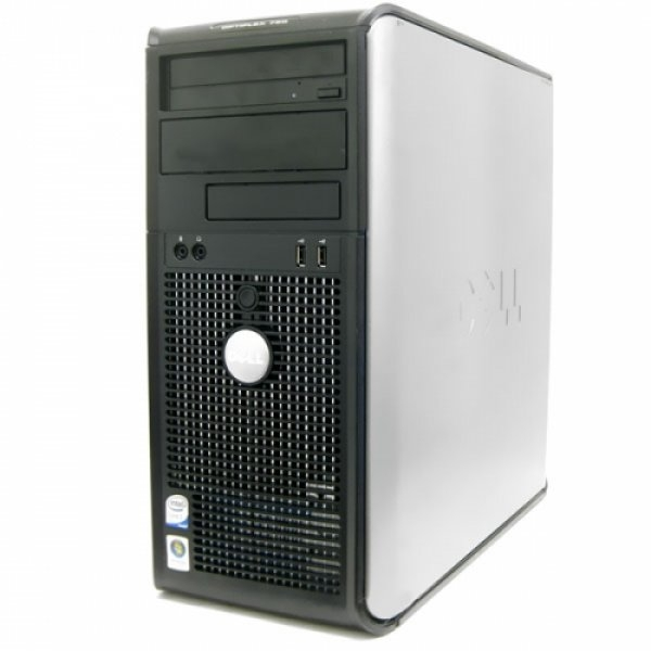 Calculator Dell Optiplex 760 Tower, Intel Core 2 Duo E8600 3.33 GHz, 2 GB DDR2, HDD 1 TB SATA, DVDRW 0