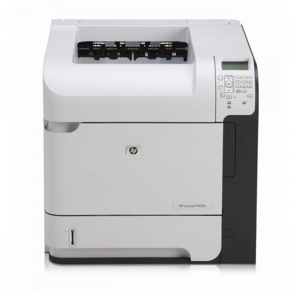 Imprimanta Laserjet Monocrom A4 HP P4015x, 50 pagini/minut, 225.000 pagini/luna, 1200/1200 Dpi, Duplex manual, 1 x USB, 1 x Network, Cartus Toner Inclus, 2 Ani Garantie [0]