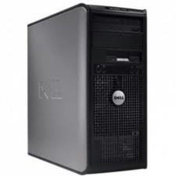 Calculator Dell Optiplex 780 Tower, Intel Core 2 Duo E7500 2.93 GHz, 2 GB DDR3, 80 GB HDD SATA, DVDRW 0
