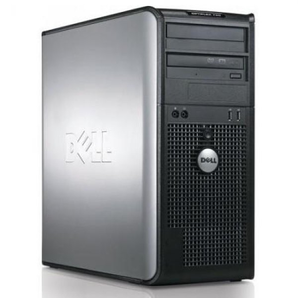 Calculator Dell Optiplex 780 Tower, Intel Core 2 Duo E7500 2.93 GHz, 2 GB DDR3, 1 TB HDD SATA, DVDRW, Windows 7 Home Premium, 3 ANI GARANTIE 0