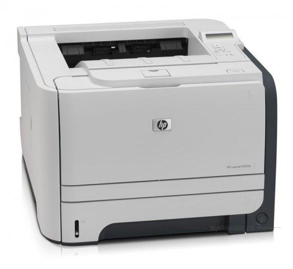 Imprimanta LaserJet monocrom A4 HP P2055d, 40 pagini/minut, 50.000 pagini/luna, 1200 x 1200 DPI, Duplex, 1 x USB, Cartus Toner Inclus, 2 Ani Garantie 0
