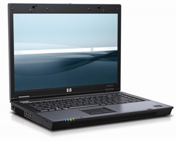 Laptop HP Compaq 6710p, Intel Core 2 Duo T7250 2.0 GHz, 2 GB DDR2, 80 GB HDD SATA, DVD-CDRW, Wi-Fi, Card Reader, Fingerprint, Display 15.4inch 1280 by 800 0