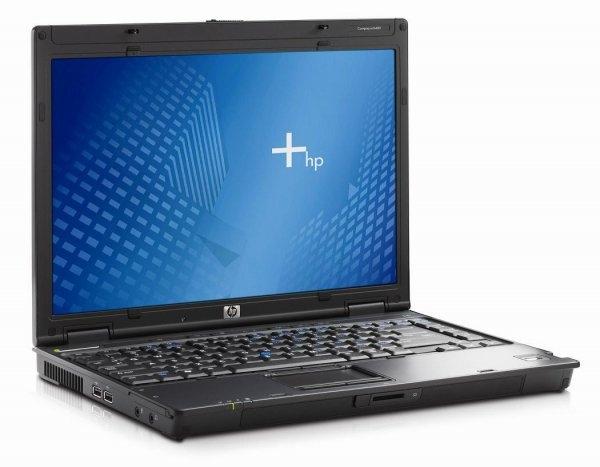Laptop HP Compaq NC6400, Intel Core 2 Duo T7200 2.0 GHz, 2 GB DDR2, 60 GB HDD SATA, DVDRW,  Wi-Fi, Card Reader, Finger Print, Display 14.1inch 1280 by 800 0