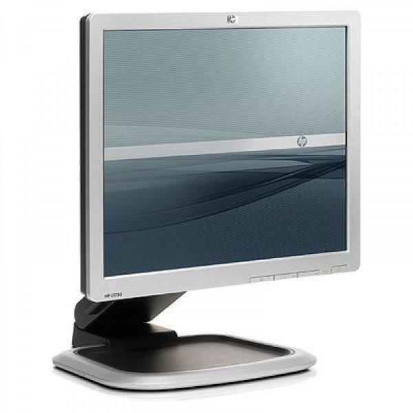 Monitor 17 inch TFT HP L1750, Silver & Black, 3 Ani Garantie 0