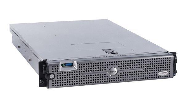 Server DELL PowerEdge 2950 III, Rackabil 2U, 2 Procesoare Intel Quad Core Xeon E5450 3.0 GHz, 32 GB DDR2 ECC, 2 x hard disk 2 TB SATA, Raid Controller SAS/SATA DELL Perc 6iR, Front Bezel, 2 x Surse Re 0