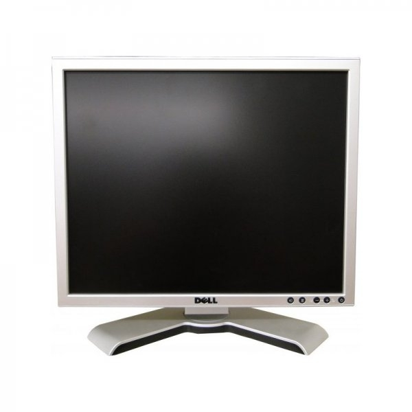 Monitor 17 inch TFT DELL UltraSharp 1707FP, Black & Silver 0