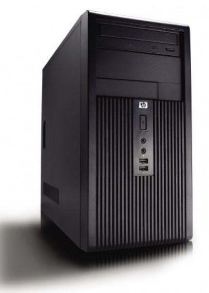 Calculator HP Compaq DX2200 Tower, Intel Pentium Dual Core 2.8 GHz, 1 GB DDR2, Hard Disk 40 GB ATA, CD-ROM, Windows 7 Home Premium, 3 ANI GARANTIE 0