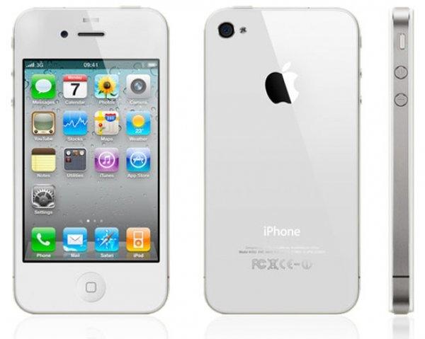Telefon Apple iPhone 4S Alb, 16 GB, Wi-Fi, fara incarcator, fara cablu de date 0