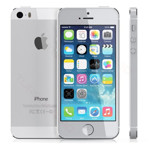 Telefon Apple iPhone 5S Silver, 32 GB [0]