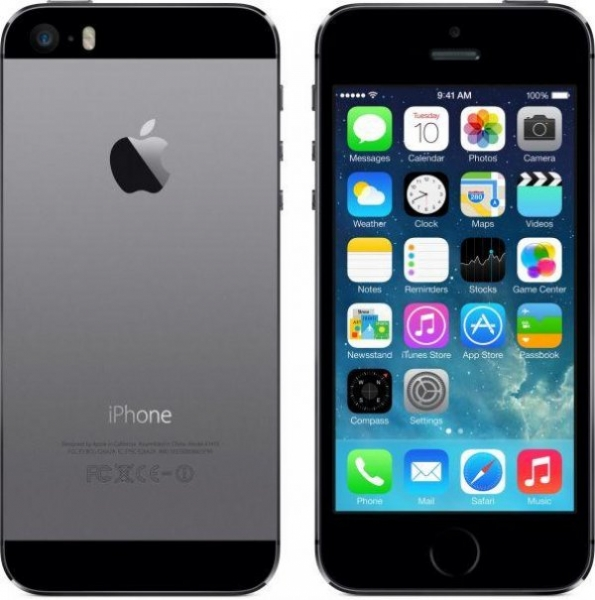 Telefon Apple iPhone 5S Space Gray, 64 GB 0
