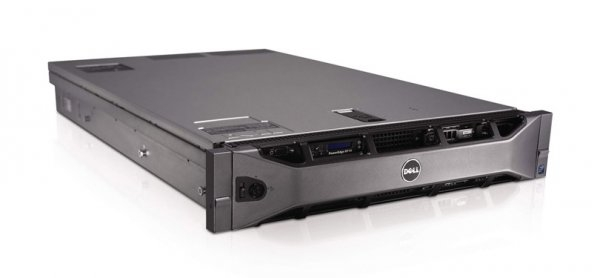 Server DELL PowerEdge R710, Rackabil 2U, 2 Procesoare Intel Xeon E5640  2.66 GHz (8 nuclee), 16 GB DDR3 ECC, 4 x hard disk 500 GB SATA, Raid Controller SAS/SATA DELL Perc6, Front Bezel, 2 x Surse Redu 0