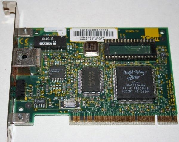 Placa de retea PCI 3COM, 10/100 0