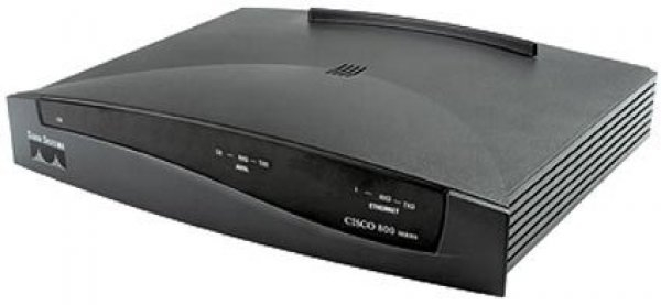 Router ADSL CISCO 827H Modem/Router 1 x ADSL port, 4 x Ethernet port [0]