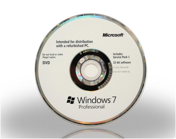 Licenta Windows 7 Professional Refurbished 32bit si 64bit se poate achizitiona doar la cumpararea unui pc, workstation sau laptop. Preinstalare Gratuita, DVD Engleza. OEM. 0