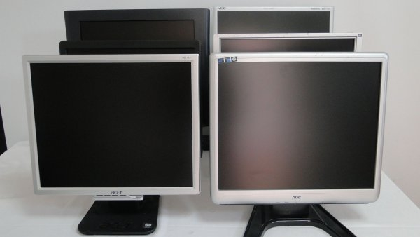 Monitor 20 inch LCD, Panou grad A- /  B, 1600 x 1200, diverse modele 0