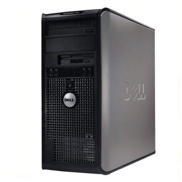 Calculator DELL Optiplex 745 Tower, Intel Core 2 Duo E6600 2.4 GHz, 2 GB DDR2, 80 GB HDD SATA, DVDRW, Windows 7 Professional, 3 ANI GARANTIE 0