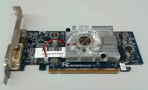 Placa video ATI Radeon HD 2400XT, PCIe, DMS-59, S-Video, 256MB 0