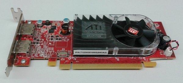 Placa video Ati Radeon HD 3470 256MB, PCI-e 16x, 256 MB DDR2, Dual Display Port Low SFF 0