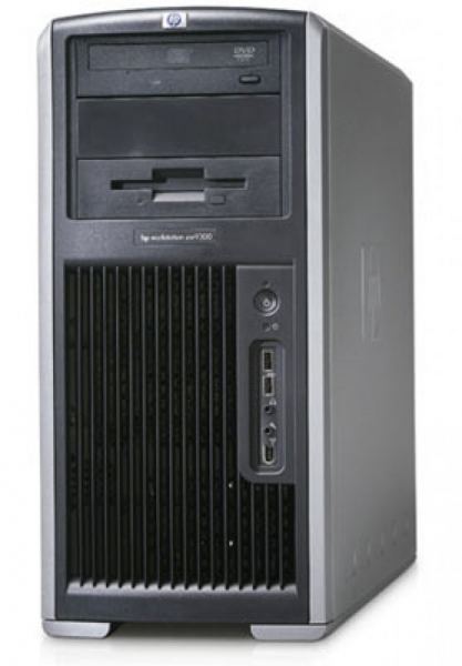 Workstation HP XW9300 Tower, 2 Procesoare AMD Opteron 248 2.2 GHz, 4 GB DDRAM, Hard disk 250 GB SATA, DVD-ROM, Windows 7 Home Premium 0