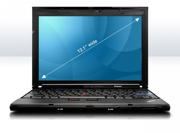 Laptop Lenovo ThinkPad X200, Intel Core 2 Duo Mobile P8700 2.53 GHz, 2 GB DDR3, 160 GB HDD SATA, WI-FI, 3G, Card Reader, Finger Print, WebCam, Display 12.1inch 1280x800 0