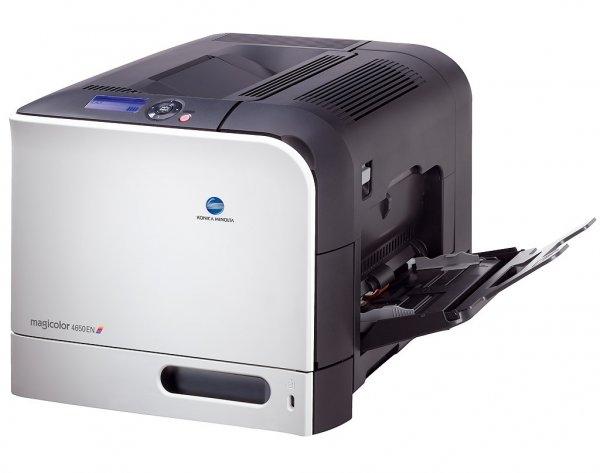 Imprimanta Laser Color A4 KONICA MINOLTA Magic color 4650 EN, 24 pagini/min, 90.000 pagini/luna,600 x 600 DPI, 1 X USB, 1 X Network, 1 X LPT, Grad B 0