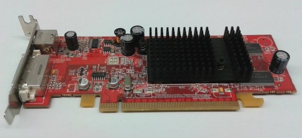Placa video Ati Radeon X600, PCI-e 16x, 128 MB, DVI, S-Video, low profile 0