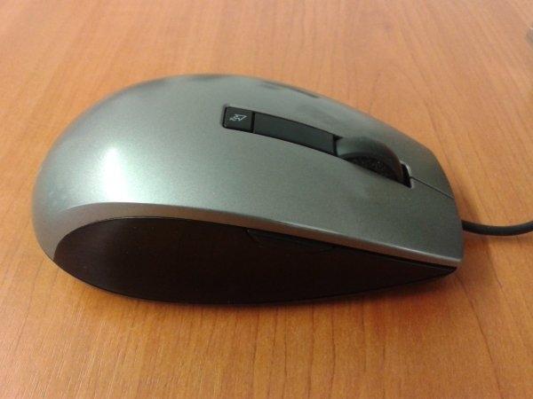 Mouse Laser DELL, M-UAV-DEL8, 6 Butoane, USB, Silver&Black 0