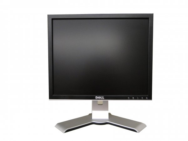 Monitor 17 inch LCD DELL UltraSharp 1707FP, Silver & Black 0