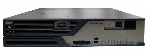 Router Cisco 3825 2GE, 1 x SFP, 2 x NME, 4 x HWIC, IP Base, Base Unit [0]