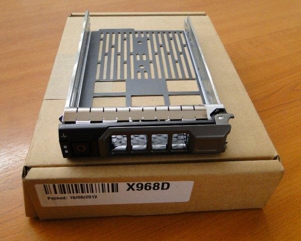 Caddy Server DELL X968D, SATA/SAS 3,5inch, compatibil cu R710 0