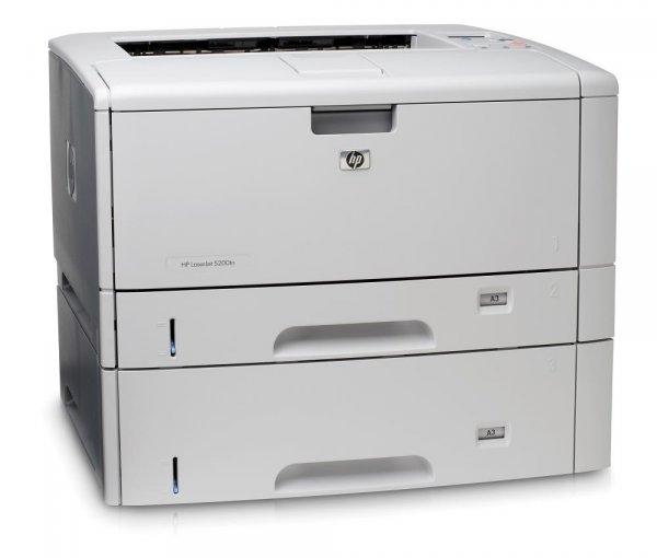 Imprimanta Laser Monocrom A3/A4 HP 9050N, 50 pagini/minut, 300.000 pagini/luna, 600 x 600 DPI, 1 x Serial, 1 x Network, 1 x Paralel, Cartus Toner inclus 0