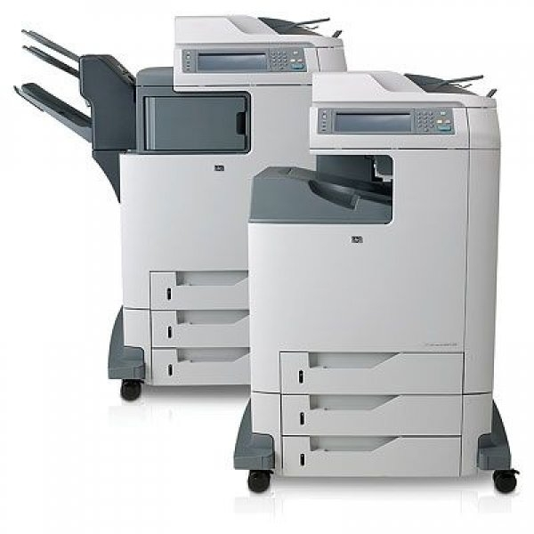 Imprimanta Multifunctionala Laser Color A4 HP CM 4730 mfp, 30 pagini/minut negru, 30 pagini/minut color, 175.000 pagini/luna, 600/600 DPI, 1 X USB, 1 X LPT, 1x network, FAX, DADF, Scanner, Cartus Tone 0