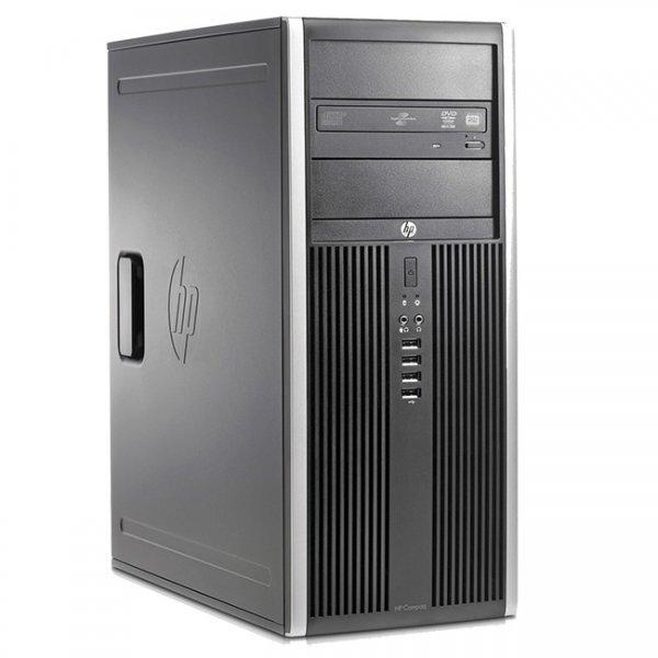 Calculator HP Compaq 8000 Elite Tower, Intel Pentium Dual Core E5500 2.8 GHz, 4 GB DDR3, DVDRW 0
