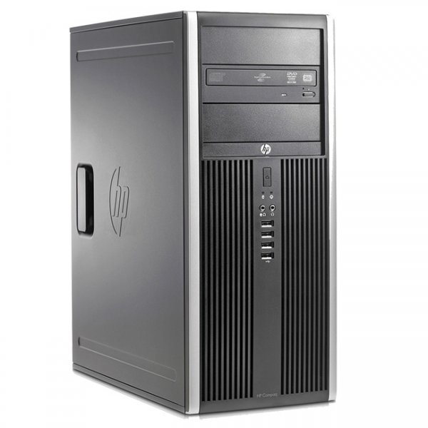 Calculator HP Compaq 8000 Elite Tower, Intel Pentium Dual Core E5700 3.0 GHz, 4 GB DDR3, 250 GB HDD SATA, DVDRW 0