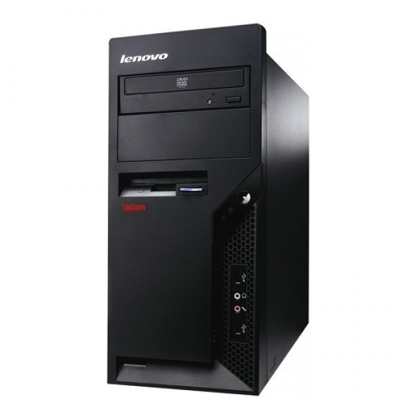 Calculator Lenovo M58p Tower, Intel Core 2 Duo E8400 3.0 GHz, 2 GB DDR3, 250 GB HDD SATA, DVDRW 0