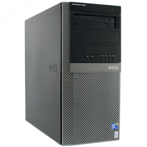 Calculator Dell Optiplex 990 Tower, Intel Core i5-2500 3.3 GHz, 4 GB DDR3, 160 GB HDD SATA, DVD-ROM, Windows 7 Home Premium, 3 ANI GARANTIE 0