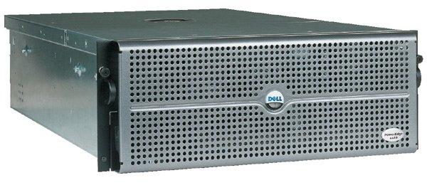 Server DELL PowerEdge 6650, Rackabil 7U, Intel Xeon 1.4 GHz, 1 GB DDRAM ECC, 2 hard disk 36 GB SCSI, CD-ROM, 2 x Sursa 0