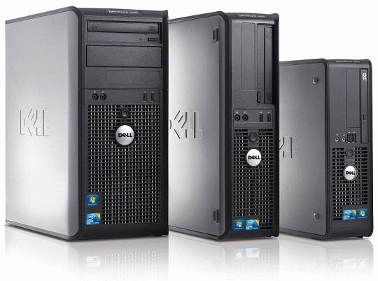 Calculator Dell Optiplex 380 Desktop SFF, Intel Core 2 Duo E7500 2.93 GHz, 4 GB DDR3, HDD 160 GB SATA, DVDRW, Windows 7 PRO 0