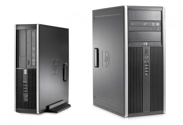 Calculator HP Elite 8000, Intel Core 2 Duo E8400 3 GHz, 4 GB DDR3, 250 GB HDD SATA, DVD 0