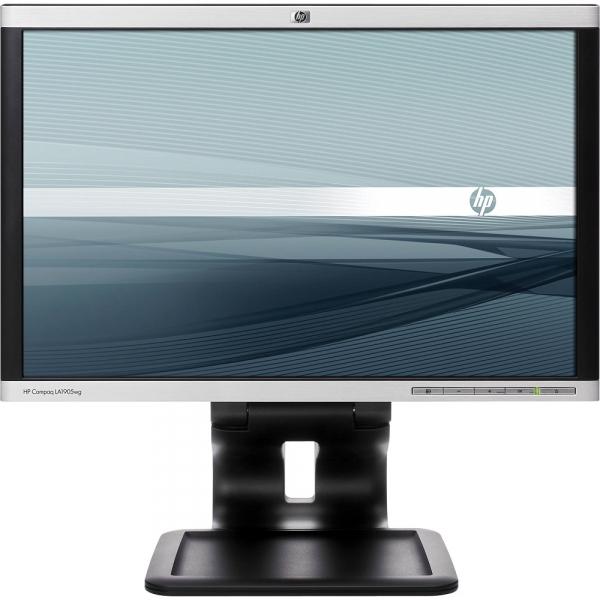 Monitor 19 inch TFT HP LA1905WG, Black & Silver, Grad A- 0