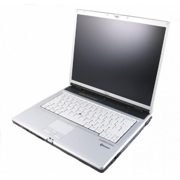 "Laptop Fujitsu Siemens Lifebook E8110 Intel Core Duo T2500 2.00Ghz, 2GB DDR2, 160GB HDD, DVDRW, Wi-Fi, Card Reader, Display 15"", Win 7 0"