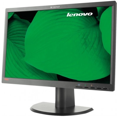 Monitor 22 inch LCD Lenovo ThinkVision L2251pwD, 1680 x 1050, Widescreen, Black, grad A 0