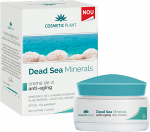 Crema Dead Sea De Zi Antiaging 50 ml Cosmetic Plant 0