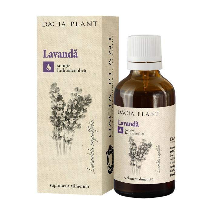 Tinctura Lavanda 50 ml Dacia Plant 0